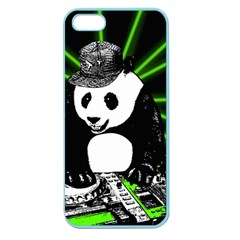 Deejay Panda Apple Seamless Iphone 5 Case (color) by Valentinaart