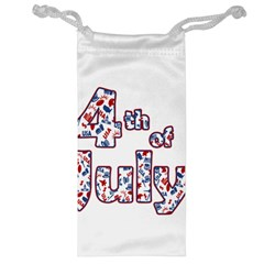 4th Of July Independence Day Jewelry Bag by Valentinaart