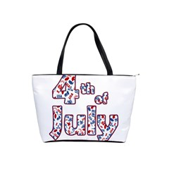 4th Of July Independence Day Shoulder Handbags by Valentinaart