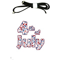 4th Of July Independence Day Shoulder Sling Bags by Valentinaart