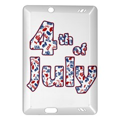 4th Of July Independence Day Amazon Kindle Fire Hd (2013) Hardshell Case by Valentinaart