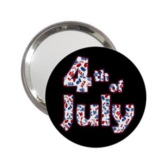 4th Of July Independence Day 2 25  Handbag Mirrors by Valentinaart