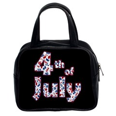 4th Of July Independence Day Classic Handbags (2 Sides) by Valentinaart