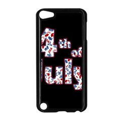 4th Of July Independence Day Apple Ipod Touch 5 Case (black) by Valentinaart