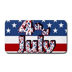 4th Of July Independence Day Medium Bar Mats by Valentinaart