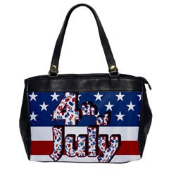4th Of July Independence Day Office Handbags by Valentinaart