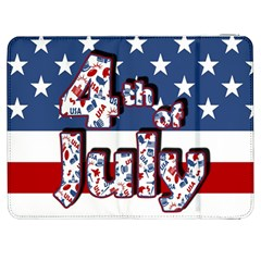 4th Of July Independence Day Samsung Galaxy Tab 7  P1000 Flip Case by Valentinaart