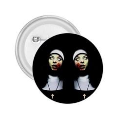 Horror Nuns 2 25  Buttons by Valentinaart