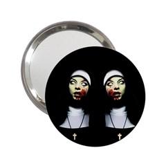 Horror Nuns 2 25  Handbag Mirrors by Valentinaart