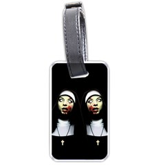 Horror Nuns Luggage Tags (one Side)  by Valentinaart