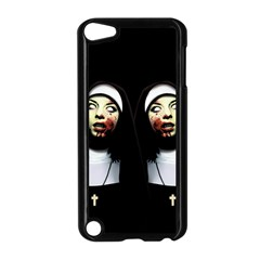 Horror Nuns Apple Ipod Touch 5 Case (black) by Valentinaart