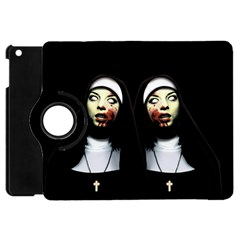 Horror Nuns Apple Ipad Mini Flip 360 Case by Valentinaart