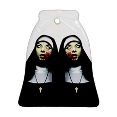Horror Nuns Bell Ornament (two Sides) by Valentinaart