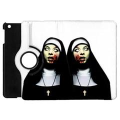 Horror Nuns Apple Ipad Mini Flip 360 Case by Valentinaart