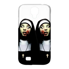 Horror Nuns Samsung Galaxy S4 Classic Hardshell Case (pc+silicone) by Valentinaart
