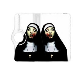 Horror Nuns Kindle Fire Hdx 8 9  Flip 360 Case by Valentinaart