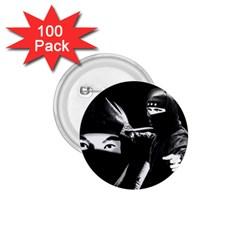Ninja 1 75  Buttons (100 Pack)  by Valentinaart