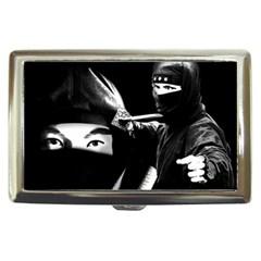Ninja Cigarette Money Cases by Valentinaart