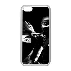 Ninja Apple Iphone 5c Seamless Case (white) by Valentinaart