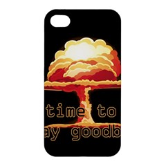 Nuclear Explosion Apple Iphone 4/4s Hardshell Case by Valentinaart