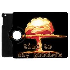 Nuclear Explosion Apple Ipad Mini Flip 360 Case by Valentinaart