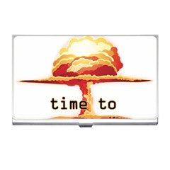 Nuclear Explosion Business Card Holders by Valentinaart