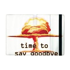 Nuclear Explosion Apple Ipad Mini Flip Case by Valentinaart