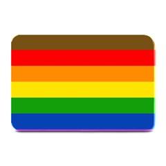 Philadelphia Pride Flag Plate Mats by Valentinaart