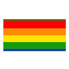 Philadelphia Pride Flag Satin Shawl by Valentinaart