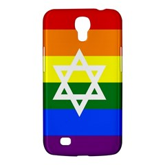 Gay Pride Israel Flag Samsung Galaxy Mega 6 3  I9200 Hardshell Case by Valentinaart