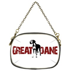 Great Dane Chain Purses (two Sides)  by Valentinaart