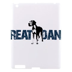 Great Dane Apple Ipad 3/4 Hardshell Case by Valentinaart