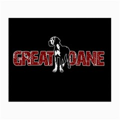 Great Dane Small Glasses Cloth by Valentinaart
