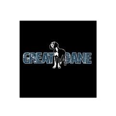Great Dane Satin Bandana Scarf by Valentinaart