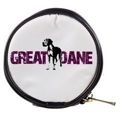 Great Dane Mini Makeup Bags by Valentinaart