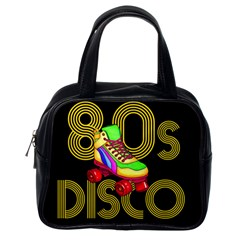Roller Skater 80s Classic Handbags (one Side) by Valentinaart
