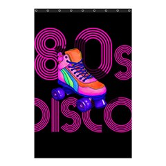 Roller Skater 80s Shower Curtain 48  X 72  (small)  by Valentinaart