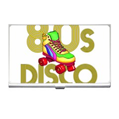Roller Skater 80s Business Card Holders by Valentinaart