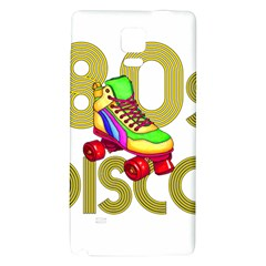 Roller Skater 80s Galaxy Note 4 Back Case by Valentinaart