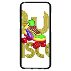 Roller Skater 80s Samsung Galaxy S8 Black Seamless Case by Valentinaart