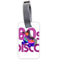 Roller Skater 80s Luggage Tags (two Sides) by Valentinaart