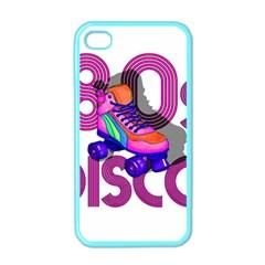 Roller Skater 80s Apple Iphone 4 Case (color) by Valentinaart