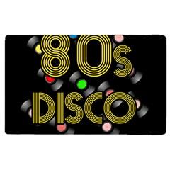 80s Disco Vinyl Records Apple Ipad 3/4 Flip Case by Valentinaart