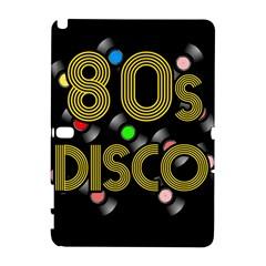80s Disco Vinyl Records Galaxy Note 1 by Valentinaart