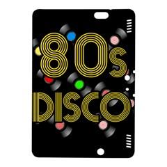 80s Disco Vinyl Records Kindle Fire Hdx 8 9  Hardshell Case by Valentinaart