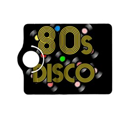 80s Disco Vinyl Records Kindle Fire Hd (2013) Flip 360 Case by Valentinaart