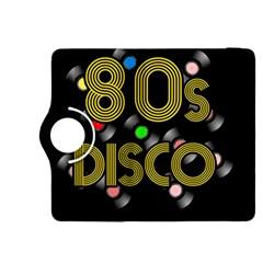 80s Disco Vinyl Records Kindle Fire Hdx 8 9  Flip 360 Case by Valentinaart