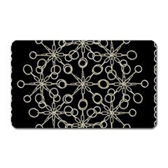 Ornate Chained Atrwork Magnet (rectangular) by dflcprints
