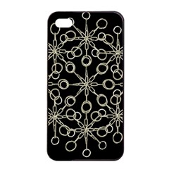 Ornate Chained Atrwork Apple Iphone 4/4s Seamless Case (black) by dflcprints