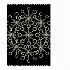 Ornate Chained Atrwork Small Garden Flag (two Sides) by dflcprints